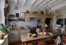Kuchyna Vidiecky dom