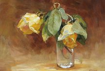 Still Life and Interior Paintings / Still Life and Interior Paintings Featured by Mark Murray Gallery