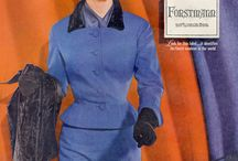 1950s Fashion Ads / Vintage Fashion Advertisements