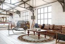 Industrial Chic Steel Beamed Ceilings / Artisanal Steelwork