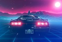 Synthwave / Synthwave, Retrowave, 80's Style