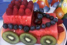 Watermelon / recipes using watermelon, watermelon car cake