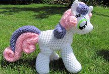 konie, osły,  .... - szydełko / horses,  ponny amigurumi