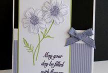 kaarten maken / verjaardagskaarten / by monique peeters