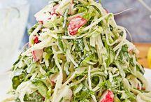 Salad recipes to make vegan