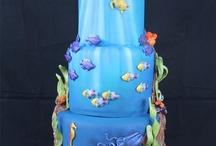 akvárium cake