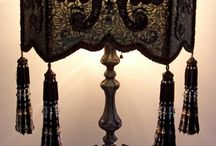 jugend, victorian, gothic lamps