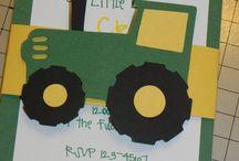 Tractor birthday ideas
