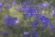 Favorite Quotes / Beautiful quotes that inspire all of us here at Wancket Studios.  Some combines with art by Audrey Wancket.