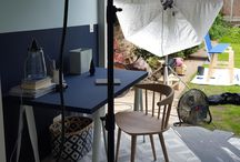 Behind The Scenes - The 'Blue' Collection and '20th Century Papers' / Go behind the scenes on the photoshoot of Little Greene's new 'Blue' collection and coordinating '20th Century Papers.'