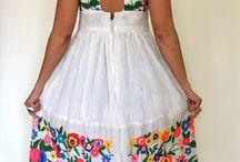 kanaviçe elbise