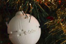 Christmas 3D Printed / 3D printed Christmas ideas from our office!
