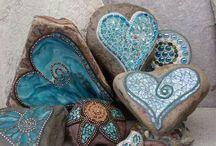 Мозаичные камни