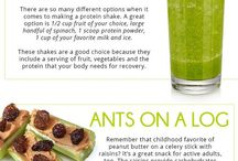 Healthy Snack Recipes / Healthy snack recipes and ideas for adults