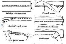Sewing seams
