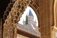 #LA ALHAMBRA / La Alhambra enclavada en una ciudad ya de por si, espectacular. Granada.