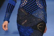Вязание фриформ