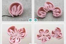 ribbon & fabric flower