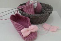Punto tricot / Jerseys de punto, zapatillas, bolsos, abrigos, gorros, bufandas, estolas y chales.