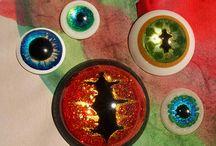 eyes handmade