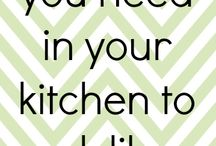 Kitchen/Cooking Tips