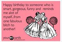 Happy Birthday / Birthday Greetings
