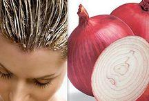 Haare / Zwiebelsaft für schnellen Haarnachwuchs