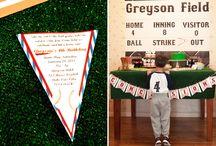 Baseball party / by Devon Bailey