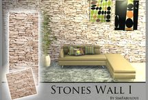The Sims 4 Wallpapers&Parquet(CC)