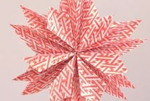 Ornaments to make / Holiday ornaments   Paper and fabric. Most quilted.  / by PJ's Creative Boutique
