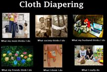I ♥ Cloth Diapers / by Alexa Lang