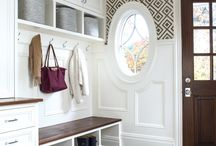 Entry Areas and Mud Rooms / Organize your entry area to save time and your sanity.