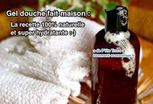 Produits hygiéniques naturels