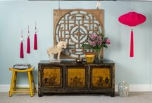 Summer Brights / Beautiful bright lacquered furniture & accessories - perfect to brighten up your home this summer.