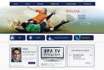 Orthopaedic Surgeons Websites / Website designs for Orthopaedic Surgeons