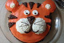 Tiger birthday ideas