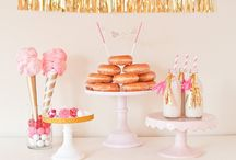 Pink Wedding Colour Theme / Pink Wedding colour ideas - from soft blush pink to vibrant cerise pink