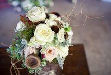 Wedding Rustic Chic / birch, bark and burlap