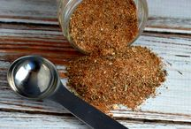 Seasonings & Rubs / by Sue Wesson