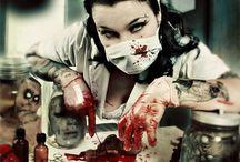 Blood, blood, blood.