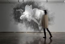 Art, installations, and sculpture