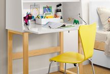 Teenage Dream / The teenage bedroom is in a class of its own. Add fun, functional design with a modern loft bed that will grow with your kids. Get creative with desk space and reading nooks to fit the needs (and moods) of the ever-changing teen.   / by Room & Board