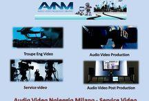 Video attrezzature materiale a noleggio milano