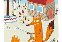 Illustration : : prints 1 / Quality prints from Quebec illustrator - Tirages d'illustrations d'une illustratrice québécoise -