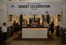 WGS: Sunset Celebrations / The multitude of World Gourmet Summit 2016 partners put forth their choicest offerings for a cocktail evening like no other, where WGS premiere gourmet and finest beverage partners come jointly to throw a party.