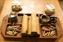 Loose parts / Wooden table resources
