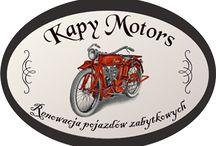 KAPY MOTORS / Renowacja motocykli