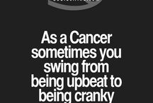 My Zodiac Says.. / cancer is my zodiac