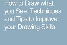How to draw betwern the lines