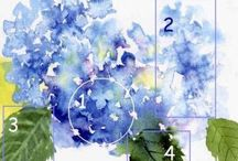 watercolor florals / by Barbara Gillispie